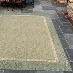 Winchelsea Green/Beige Indoor / Outdoor Area Rug | Wayfair North America