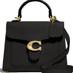 Tabby Mixed Leather Top Handle Bag   Nordstrom