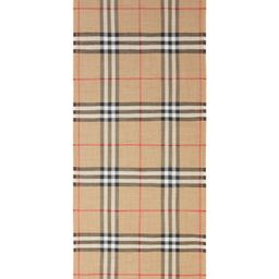 Giant Check Print Wool & Silk Scarf   Nordstrom