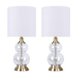 Leonardo Clear Table Lamp Set (Set of 2)   Wayfair North America