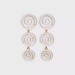 SUGARFIX by BaubleBar Beaded Swirl Drop Earrings | Target