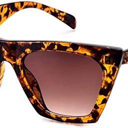 Mosanana Square Cat Eye Sunglasses for Women Trendy Style MS51801 | Amazon (US)