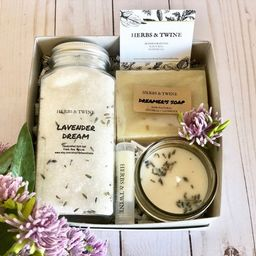 Lavender Gift Set   Relaxation Spa Gift Basket  Gifts for   Etsy   Etsy (US)