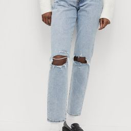 Mom High Ankle Jeans  $39.99   H&M (US)