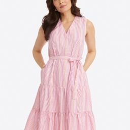 Loretta Shirtdress in Pink Seersucker | Draper James (US)