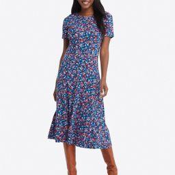 Tammy Midi T-Shirt Dress in Spring Ditsy Floral   Draper James (US)
