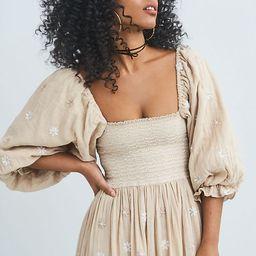 Dahlia Embroidered Maxi Dress   Free People (US)