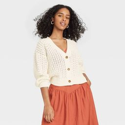 Women's Button-Front Cardigan - A New Day™ | Target