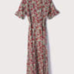 September Sunsets White Multi Floral Print Wrap Maxi Dress   Lulus (US)