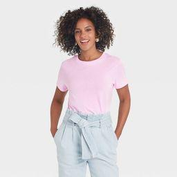 Women's Short Sleeve Casual T-Shirt - A New Day™   Target