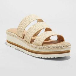 Women's Florence Sporty Platform Sandals - Universal Thread™   Target