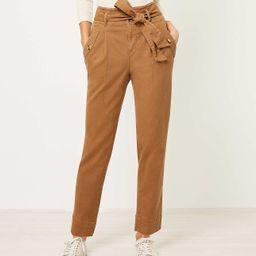 Tie Waist Slim Ankle Pants | LOFT