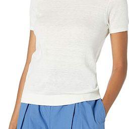 The Drop Women's Daryl Short Sleeve Tiny T-Shirt Crew Neck Sweater | Amazon (US)