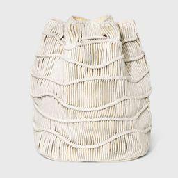 Drawstring Closure Soft Sling Bucket Bag - Universal Thread™ | Target