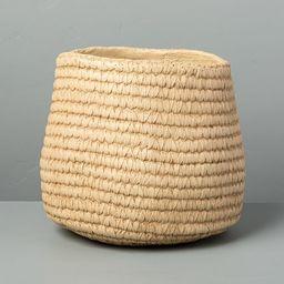 Indoor/Outdoor Concrete Basket Planter - Hearth & Hand™ with Magnolia   Target