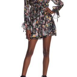 Closer to the Heart Floral Mini Dress   Nordstrom Rack