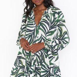 Birdie Mini Dress ~ Peruvian Palm   Show Me Your Mumu