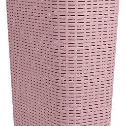 Mind Reader Basket Laundry Hamper with Cutout Handles, Washing Bin, Dirty Clothes Storage, Bathro... | Amazon (US)