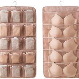 Linen Type Cloth Dual Sided Wall Shelf Wardrobe Organizers Storage Bags,Closet Hanging Organizer ... | Amazon (US)