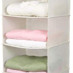 MAX Houser 6 Tier Shelf Hanging Closet Organizer, Cloth Hanging Shelf with 2 Sturdy Hooks for Sto... | Amazon (US)