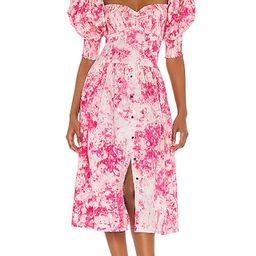 Puff Sleeve Sweet Heart Dress   Revolve Clothing (Global)