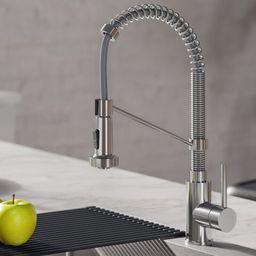 KPF-1610CH Bolden Pull Down Single Handle Kitchen Faucet | Wayfair North America