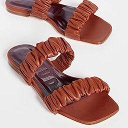 Maya Ruched Sandals | Shopbop