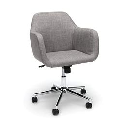 OFM ESS Collection Upholstered Home Office Desk Chair, in Grey (ESS-2085-GRY) | Amazon (US)
