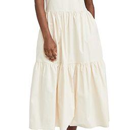 Ruffle Neck Sleeveless Midi Dress | Shopbop