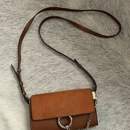Chloe Mini Faye Crossbody Bag Tobacco Wallet On Strap Rrp $1500 Good Condition  | eBay | eBay US