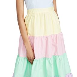 Colorblock Midi Dress | Shopbop