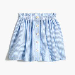 Girls' seersucker skirt | J.Crew Factory