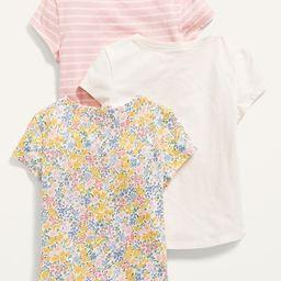 Unisex 3-Pack Short-Sleeve Tee for Toddler | Old Navy (US)