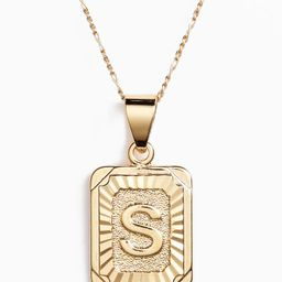 Initial Pendant Necklace   Nordstrom