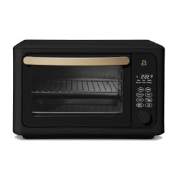 Beautiful 6 Slice Touchscreen Air Fryer Toaster Oven, Black Sesame by Drew Barrymore | Walmart (US)