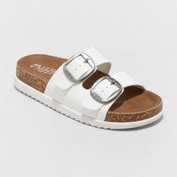 Women's Mad Love Genna Platform Footbed Sandals | Target