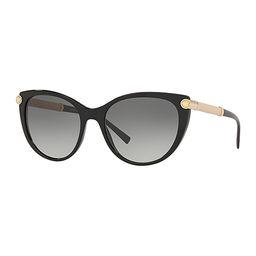Versace Sunglasses BLACK - Black Cat-Eye Sunglasses | Zulily