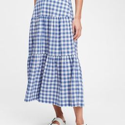 Tiered Maxi Skirt | Gap (US)