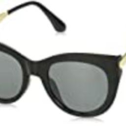 A.J. Morgan Women's Magnanimous Cateye Sunglasses, Black, 50 mm | Amazon (US)