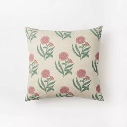 Floral Printed Throw Pillow - Threshold™ designed with Studio McGee | Target