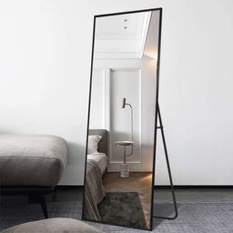 Neutype Full Length Mirror Floor Mirror with Standing Holder Hanging /Leaning Large Wall Mounted ... | Walmart (US)
