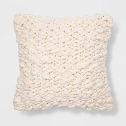Chunky Weave Square Throw Pillow - Project 62™   Target
