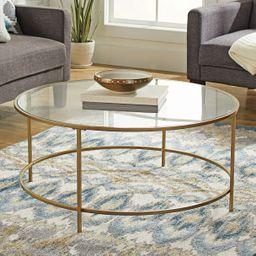Better Homes & Gardens Nola Coffee Table, Gold Finish | Walmart (US)