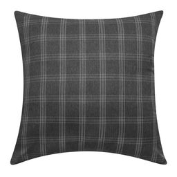 "Mainstays Plaid Decorative Throw Pillow, 18x18"", Black | Walmart (US)"