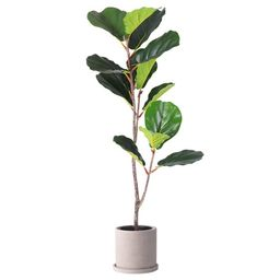 3.3 Ft Fiddle Leaf Fig Artificial Trees Artificial Plant Faux Trees | Walmart (US)