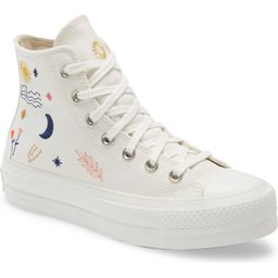 Chuck Taylor® All Star® It's Okay to Wander Embroidered Platform Sneaker   Nordstrom