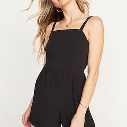 Soft-Woven Cami Romper for Women -- 3.5-inch inseam   Old Navy (US)
