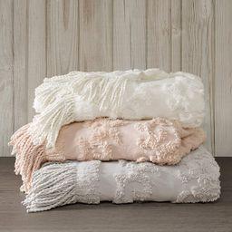 Madison Park 100% Cotton Tufted Chenille Design With Fringe Tassel Luxury Elegant Chic Lightweigh...   Amazon (US)