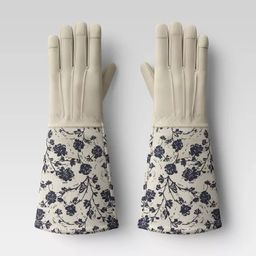 Roepickers Work Gloves Blue Floral - Smith & Hawken™ | Target