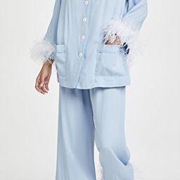 Cornflower Party Pajama Set   Shopbop
